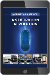 Mobility As A Service Report on a iPad