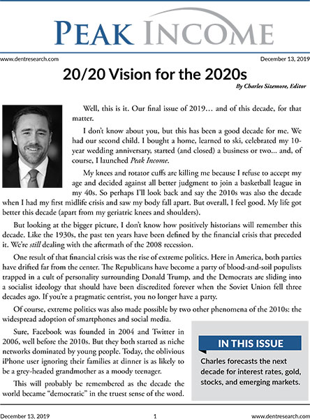 20/20 Vision for the 2020s