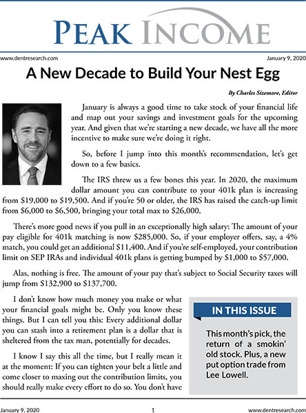 A New Decade to Build Your Nest Egg