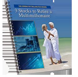 3 stocks to retire a multimillionaire